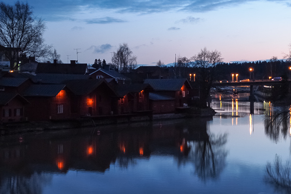 Porvoo old part river view