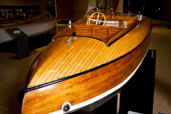 Boat from the Wellamo Maritime Museum collections