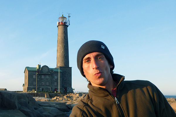 Wandering Earl at the Bengtskär lighthouse