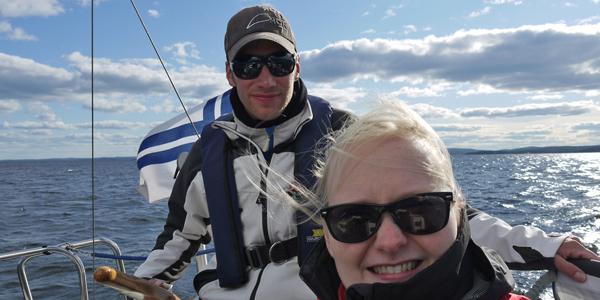 Minna Valtari and Antti Laine