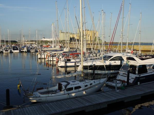 Ystad guest harbour
