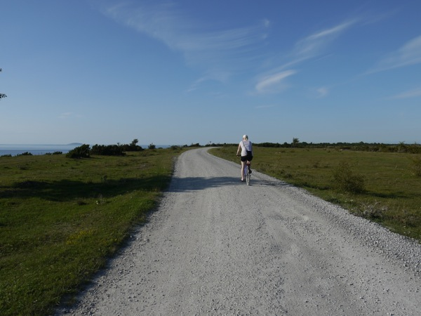 Cycle is the best vehicle to see Öland.