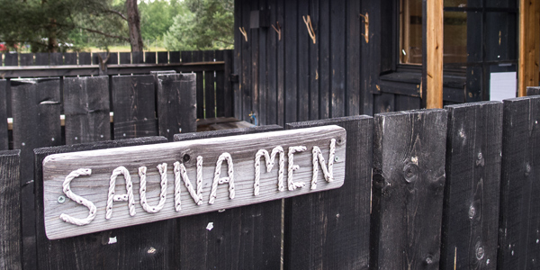 Welcome to the sauna in Parattula (Peterzéns)