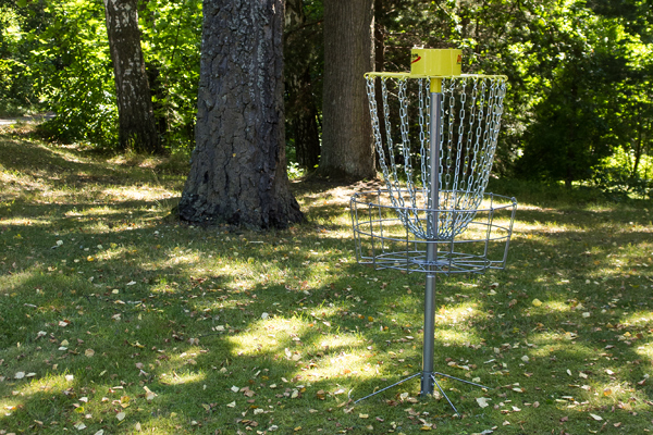 Play golf, either disc golf or take on the 18 hole course nearby.