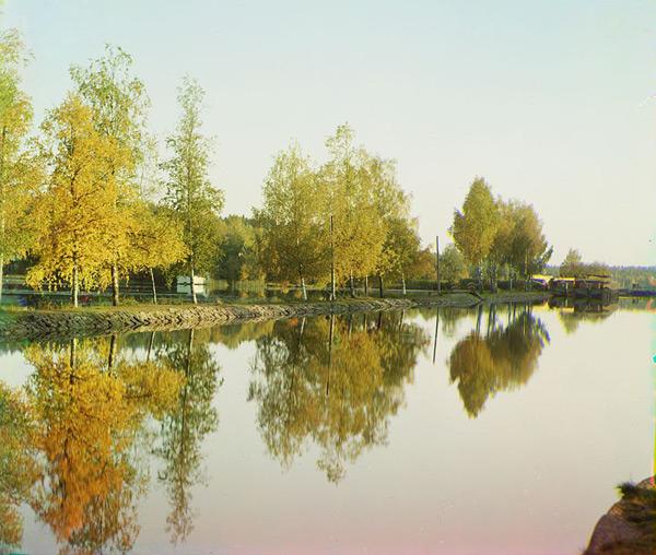 View from Lake Saimaa by Sergei Prokudin-Gorski (1903)