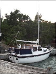 Christian the diver's boat