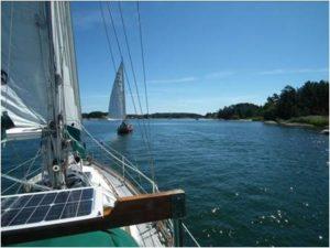 Sailing into Birsskär