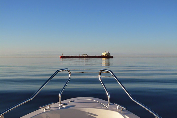 Stay clear of shipping is one of the key navigational challenges on the Gulf fo Finland