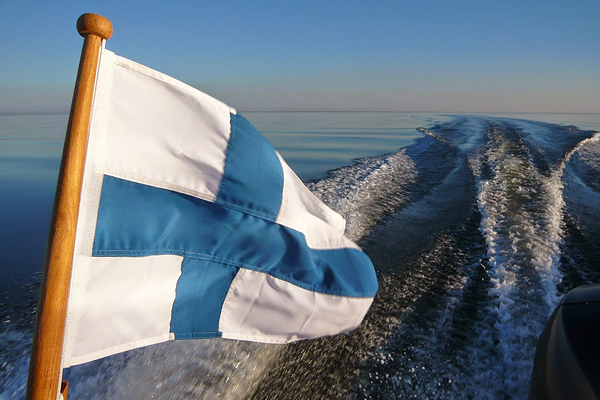 Finns on the way to Tallinn