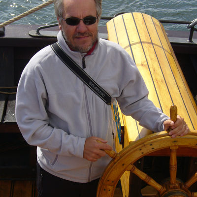 Håkan Mitts, editor of Sail in Finland