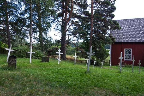 The wooden church on the island of Själö (Seili)