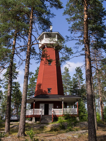 Haralanharju observation tower