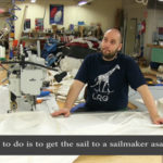 Emergency sail repair and preventive maintenance