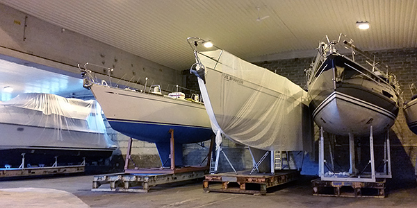 Leaving your boat in Finland for the winter