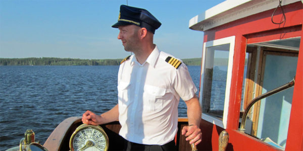 Mikko Manka, steamship enthusiast