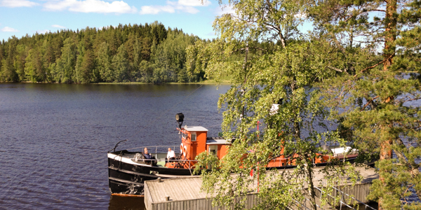 You can visit extraordinary places by chartering a steamer.