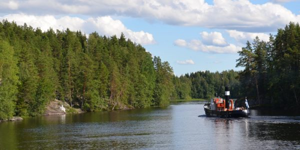 Steamships in Finland – cruises and charter