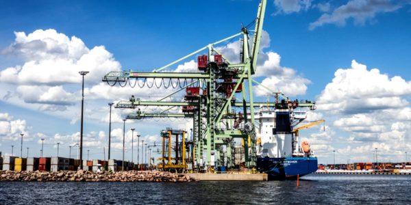 Industrial city Kotka