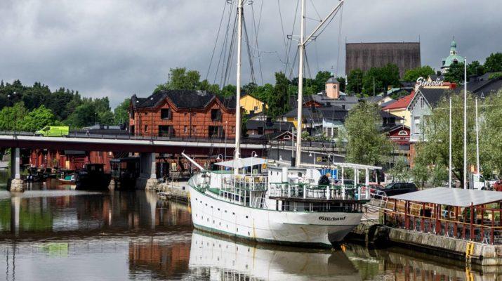 City hopping eastern Gulf of Finland