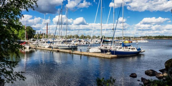 Kotka and Sapokka marina