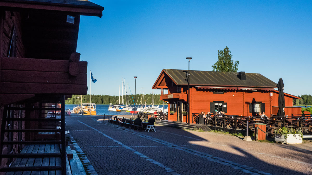 Loviisa harbor view