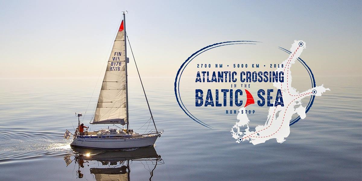 Atlantic crossing in the Baltic Sea